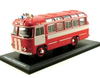 Павловский автобус 672М Пожарный (1980), красный