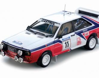AUDI Quattro #11 F.Wittmann-P.Diekmann Rally Acropolis, white / red