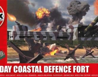 Сборная модель Береговой артиллерийский форт