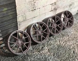Комплект дисков HRE 101 Porsche (с резиной Proxes T1-R)