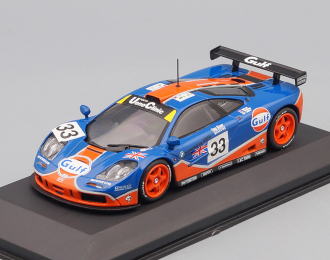 "McLaren F1 GTR #33 ""Gulf Racing"" 9 место Le Mans 1996 Lehto - Weaver - Bellm"