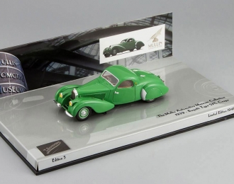 BUGATTI Type 57C coupe 1939 The Mullin Automotive Museum Collection, green