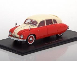 TATRA T600 Tatraplan 1948 Red/Beige