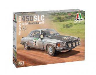 Сборная модель Автомобиль Mercedes-Benz 450SLC Rallye Bandama 1979