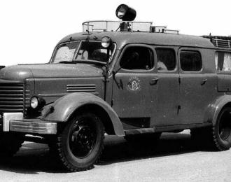 Сборная модель Автомобиль связи и освещения АСО-2 на базе ЗИS-150