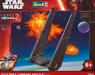 Сборная модель Звездные войны - Командный шаттл Кайло Рена