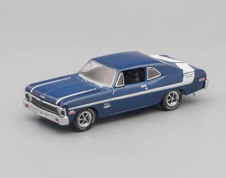 CHEVROLET Yenko Deuce Nova LT1 350 (1970), blue / white