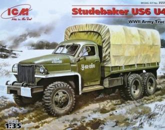 Сборная модель STUDEBAKER US6 U4 с тентом и лебедкой