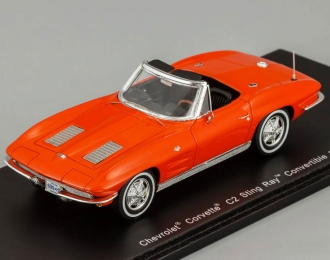 CHEVROLET Corvette C2 Sting Ray Convertible (1963), red