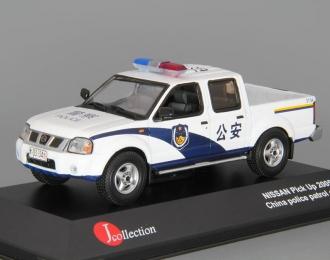 (Уценка!) NISSAN Pick-Up China Police (2002), white