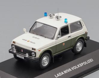 Волжский автомобиль 2121 Нива Полиция ГДР / LADA Niva Volkspolizei
