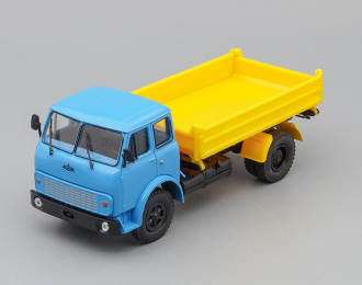 (Уценка!) МАЗ-5111 самосвал с боковой разгрузкой, голубой / желтый