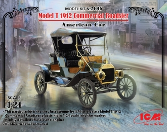 Сборная модель Model T 1912 Commercial Roadster