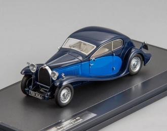 BUGATTI Type 46 Superprofile Coupe (1930), dark blue / blue