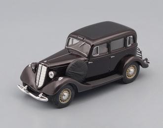 Горький М1 такси, темно-коричневый