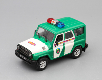 УАЗ 31519 Хантер ДПСУ, зеленый / белый