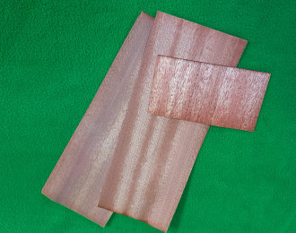 Шпон 0,6 мм красное дерево (махагон) 25 г