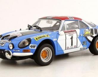 Renault-Alpine A110 1800S #1 Winner Tour de Corse 1973 Nicolas - Michel