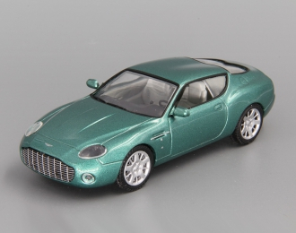 ASTON MARTIN DB7 Zagato, Суперкары 43, зеленый