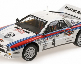 "Lancia Rally 037 ""Martini"" #4 Monte Carlo 1985 H.Toivonen, J.Pironen"