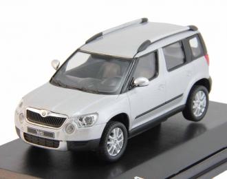 SKODA Yeti (2009), silver brilliant metallic