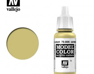 Краска акриловая `Model Color` Немецкий желтый/German Yellow