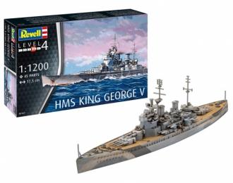 Сборная модель Линкор HMS King George V