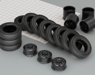Резина, диски КАМА 310, компл. из 7 колес