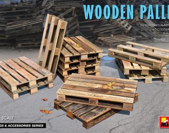 Сборная модель Деревянные Паллеты