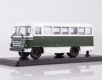 Автобус КАГ-3, бело-зелёный