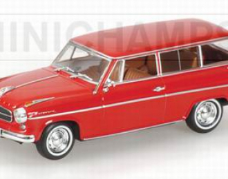 BORGWARD Isabella Kombi 1958,  red