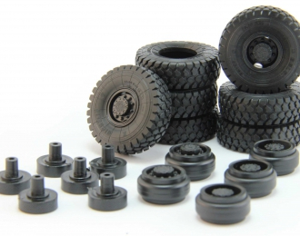 Резина, диски для МАЗ 65xx (БЕЛ-95), комплект из 7 колес