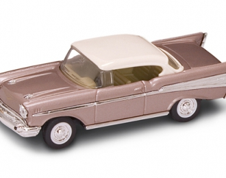 CHEVROLET Bel Air (1957), light brown metallic