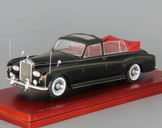 ROLLS-ROYCE PHANTOM V State Landaulette 1967 Queen Elizabeth II Bermuda, black / red