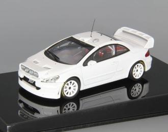 PEUGEOT 307 WRC plain body version, white
