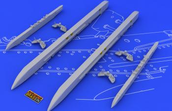Набор дополнений Su-25K wing pylons