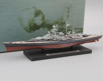 """Линкор Tirpitz, серия """"Корабли мира"""""""