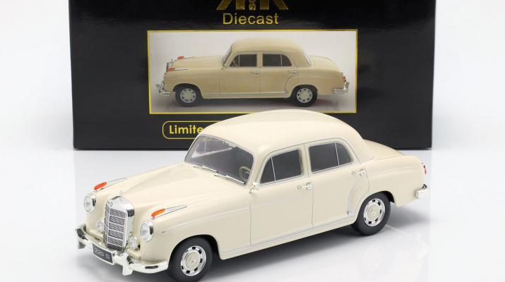 MERCEDES-BENZ 220S Limousine (W180 II) 1956 Beige