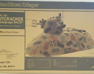 Сборная модель Боевой робот P.K.H. 103 NUTCRACKER Kampfgruppe BALCK