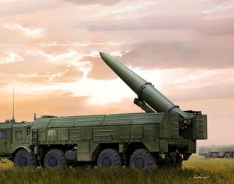 Сборная модель Ракетный комплекс Russian 9P78-1 TEL for 9K720 Iskander-M System (SS-26 Stone)