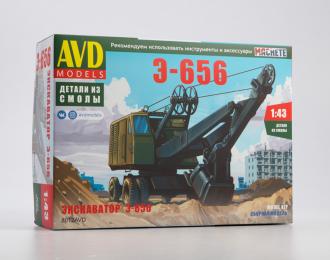 Сборная модель Экскаватор Э-656