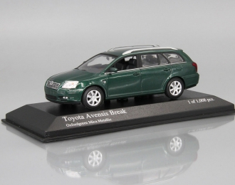 TOYOTA Avensis Break (2002), green metallic