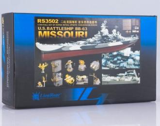 Набор для доработки Американский линейный корабль Missouri (BB-63)