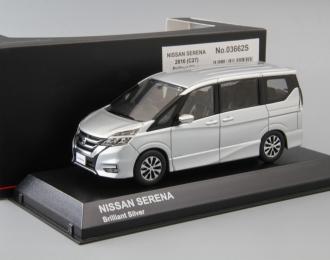 NISSAN Serena C27 (2016), brilliant silver