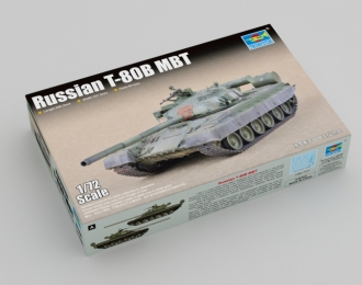 Сборная модель танк Russian T-80B MBT