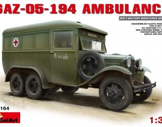 Сборная модель Автомобиль  05-194 AMBULANCE