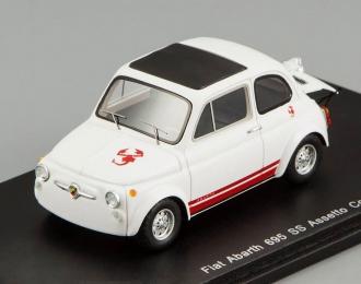 ABARTH 695 SS (1965), white