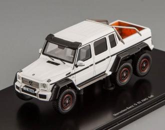 MERCEDES-BENZ G63 6x6 AMG (2013), white