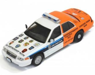 FORD Crown Victoria Arlington Police Sober ride (2012), white