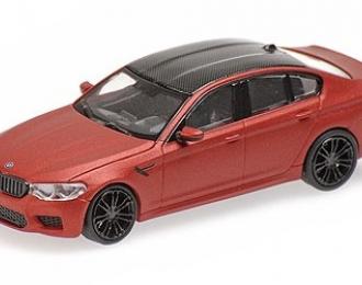 BMW M5 - 2018 - MATT RED